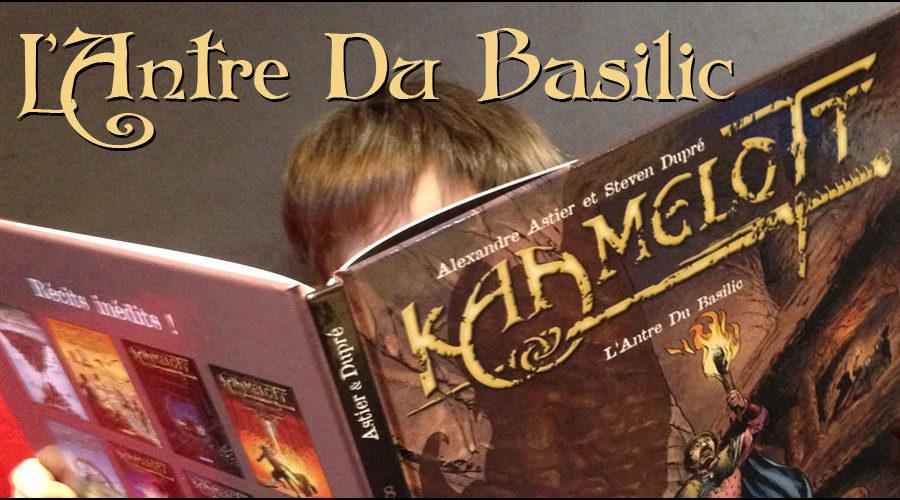 L'Antre Du Basilic – BD Kaamelott tome 8