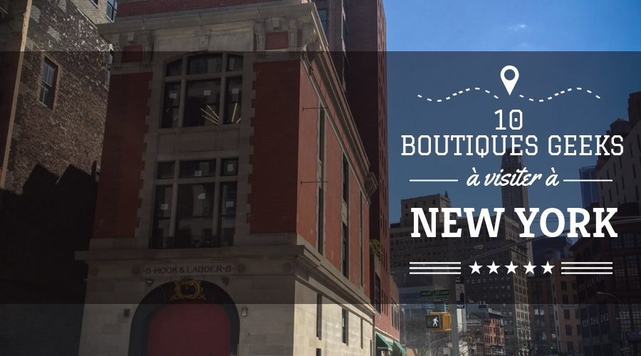 10 boutiques geeks à New York