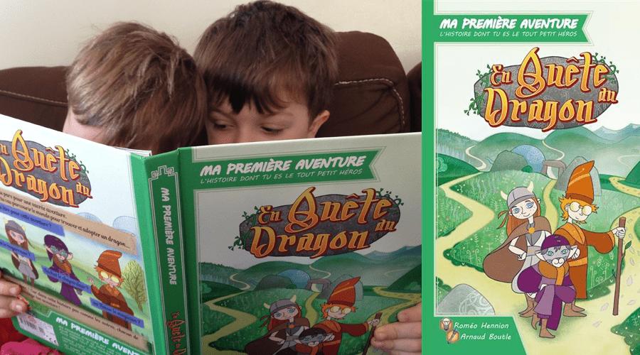 En Quête du Dragon (ma première aventure)