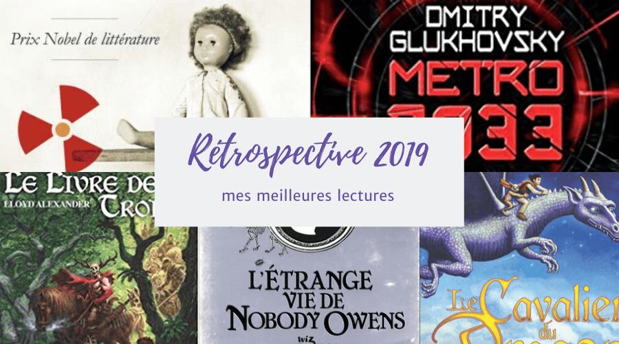 Rétrospective : mes 6 meilleurs livres en 2019