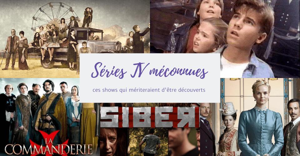 Séries TV méconnues