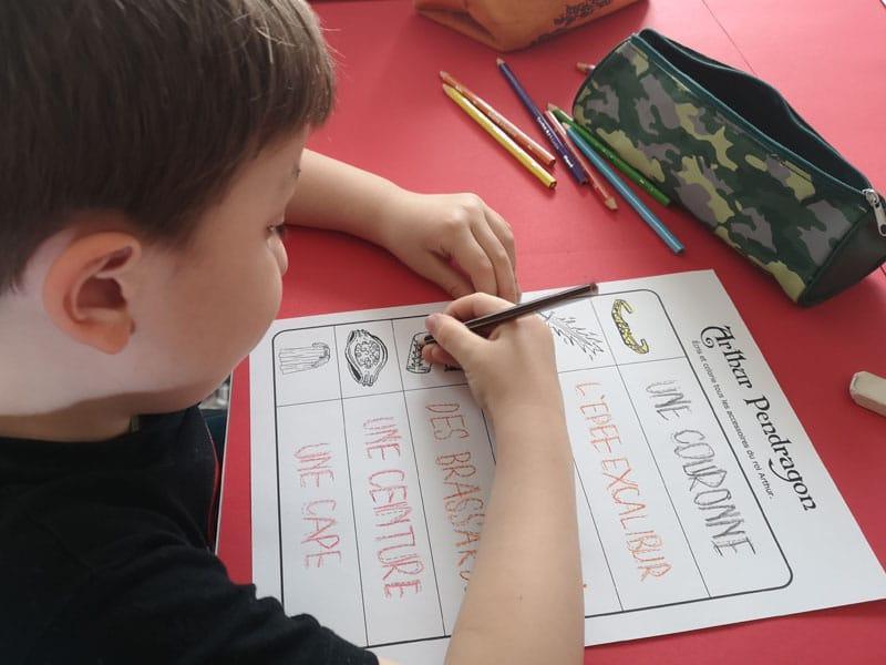 activités Kaamelott pour enfants