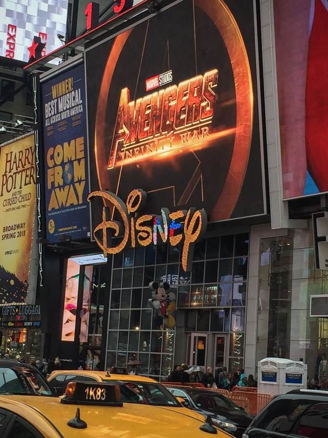 Disney Store New York