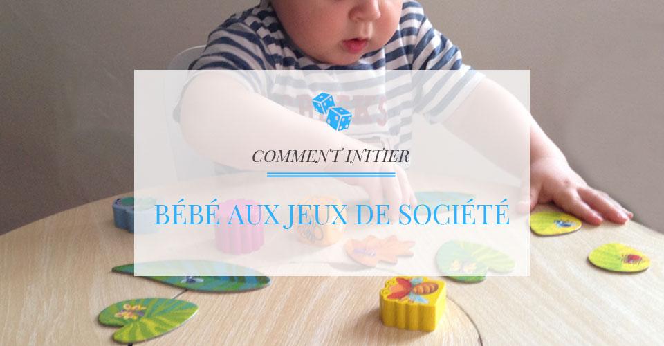 Jeux de société pour bébé