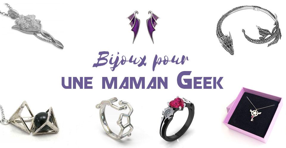 bijoux pour maman geek