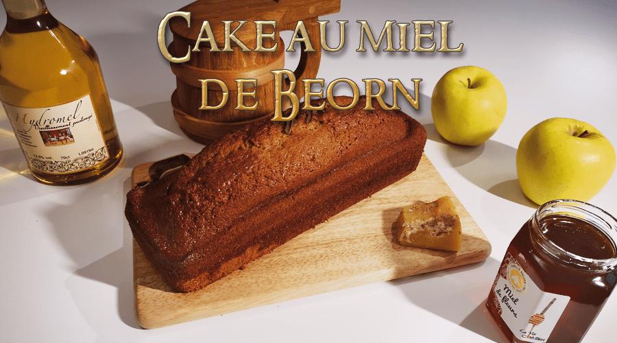 Le Hobbit – cake au miel de Beorn