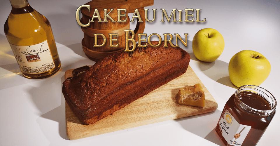 Cake au miel de Beorn