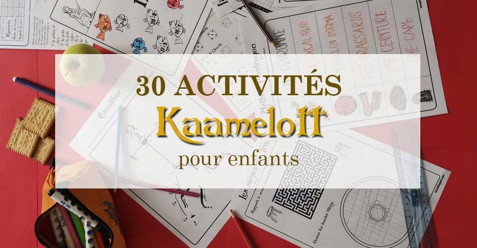 30 Activités Kaamelott