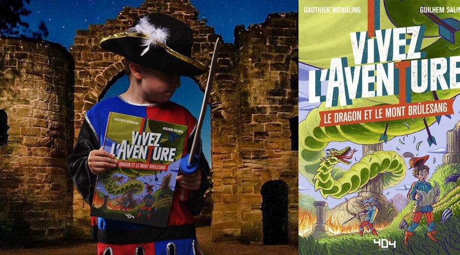 Vivez l'Aventure, Le dragon et le mont Brûlesang