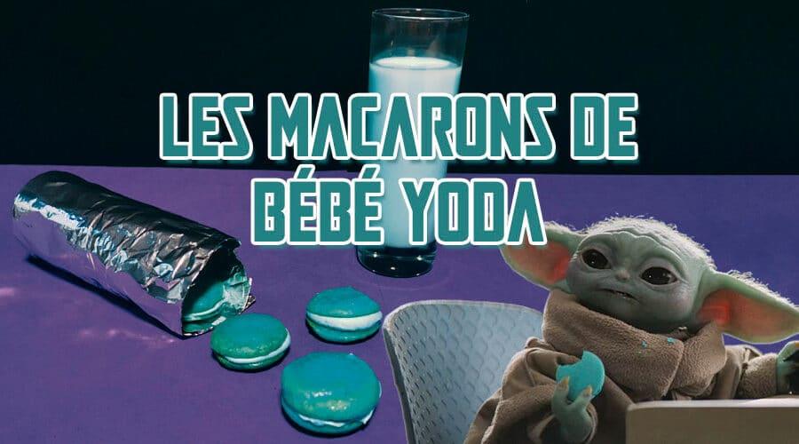 The Mandalorian : les macarons de bébé Yoda