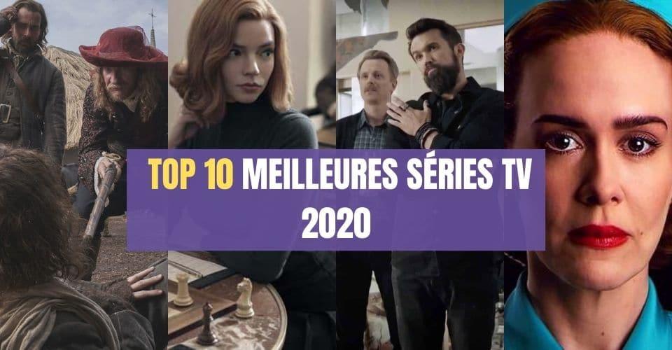 TOP 10 MEILLEURES Séries TV 2020