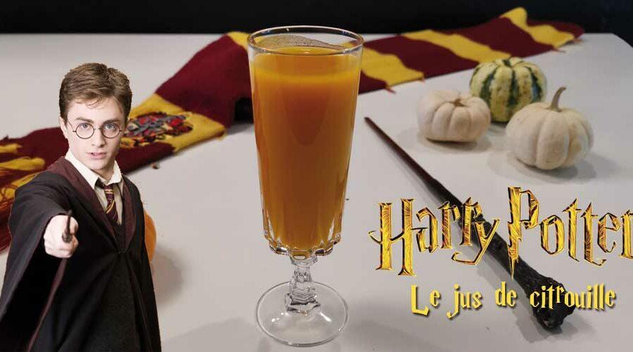 Harry Potter – cocktail jus de citrouille