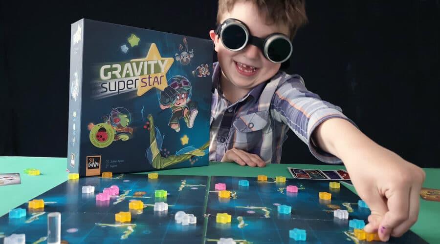 Gravity Superstar – le jeu pour toucher les étoiles