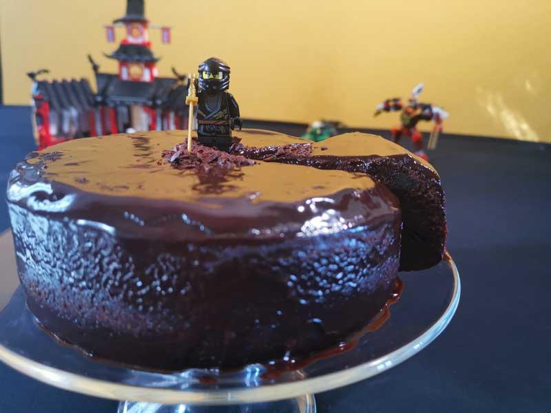 Ninjago : le gâteau au chocolat de Cole