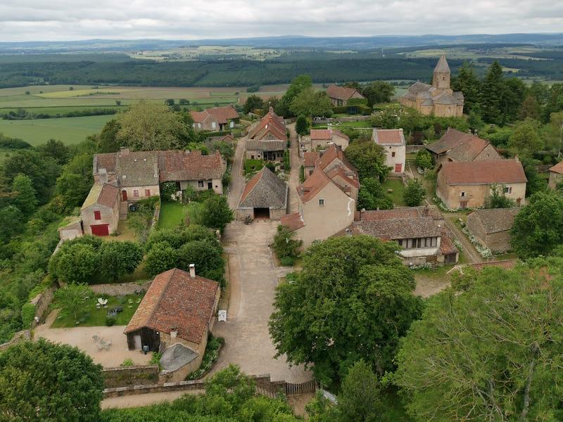 Brançion - un des plus beaux villages autour de Lyon