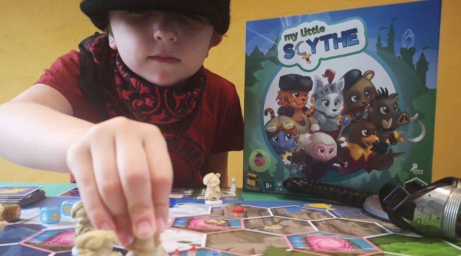 My little Scythe, jeu de stratégie et mignonneries