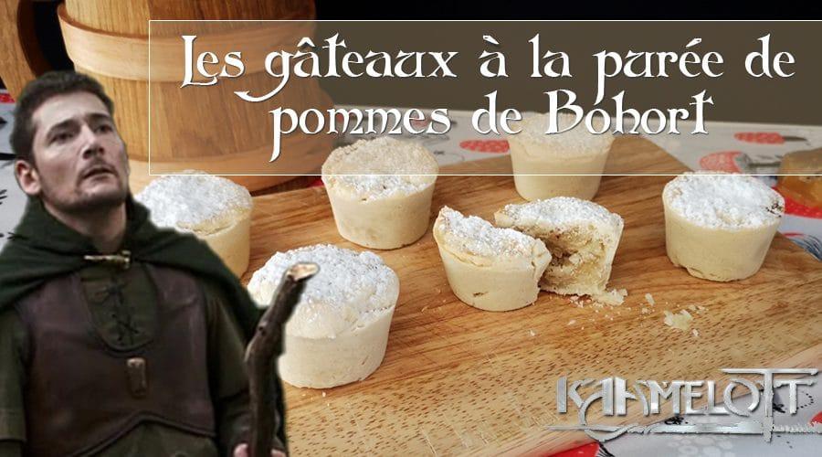 Kaamelott – les gâteaux à la purée de pommes de Bohort