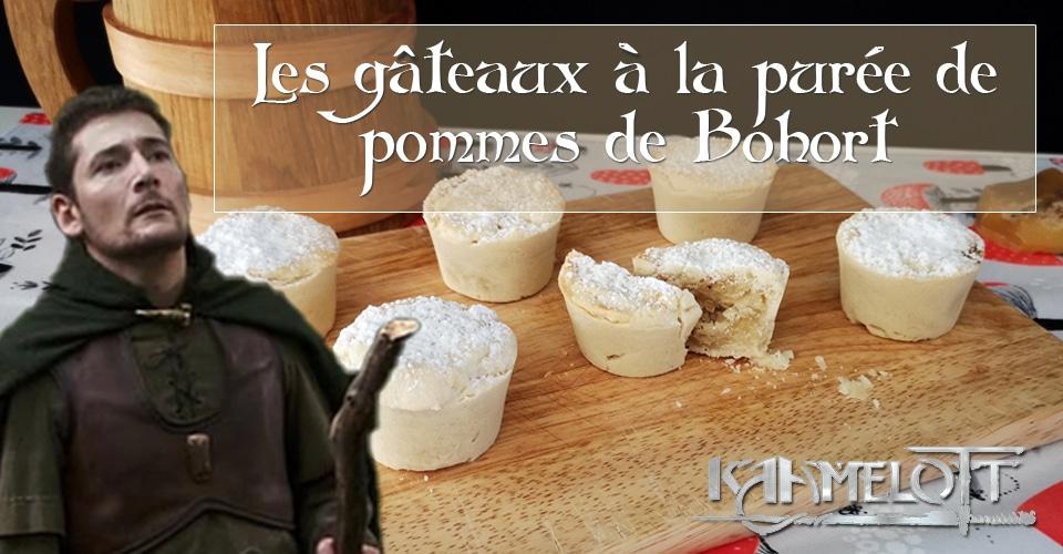 Les gâteaux à la purée de pommes de Bohort